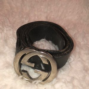 Vintage Gucci GG Logo Belt
